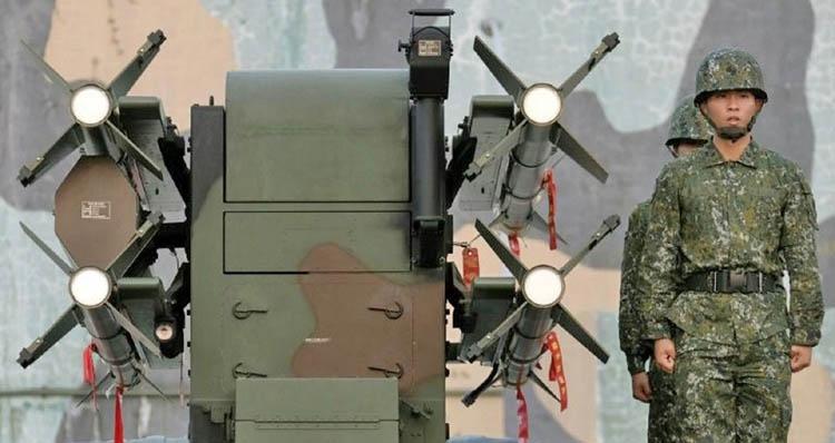 'China aims advanced DF-16 missiles at Taiwan'