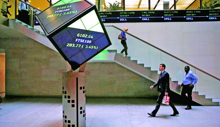 FTSE slips from record high as banks, oil drag