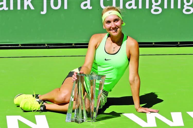 Vesnina beats Svetlana  to win Indian Wells title