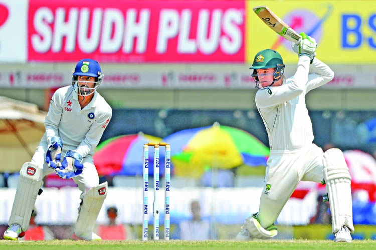 Handscomb, Marsh help Aussies to draw toughest Ranchi Test