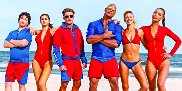 Baywatch trailer is here!