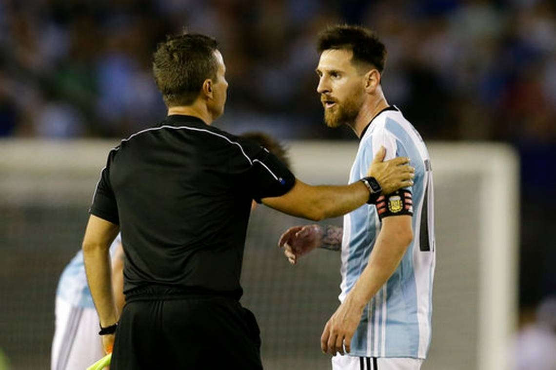WC qualifying woes for Argentina after ban for Messi