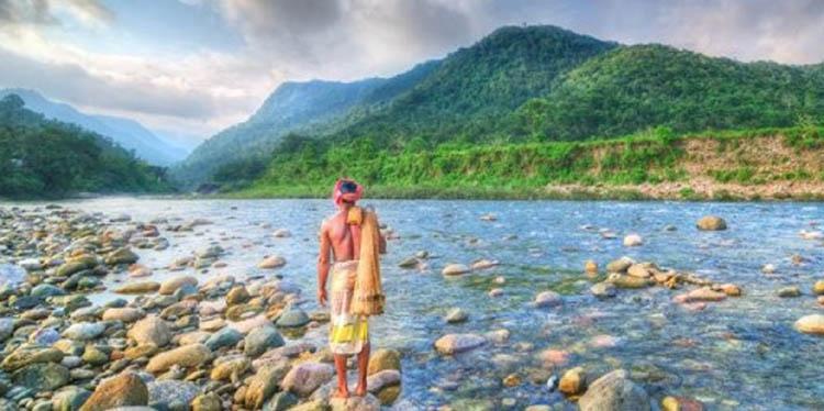 Bisnakandhi an attractive tourist spot in Sylhet