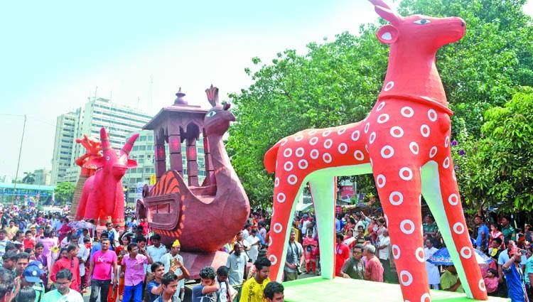 'Naba Barsho' celebrations