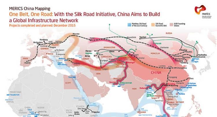 Dynamics of 'One belt one road' idea of China