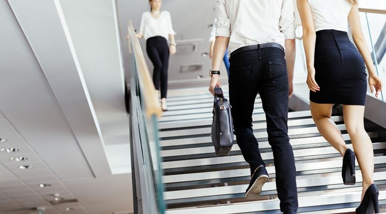 Stairs can feel you more energised than soda at work