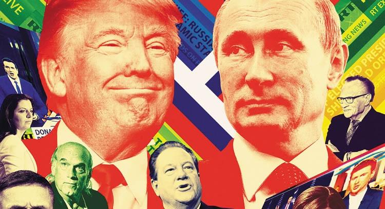 Trump, Trump, yes, papa; hiding Russia? No, papa