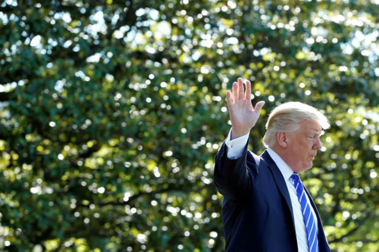 Trump sets out for Middle East, Europe