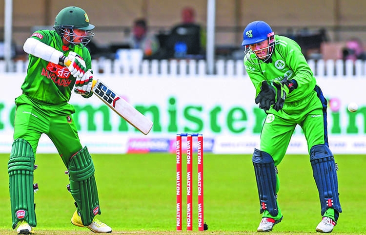 Bangladesh thrash Ireland