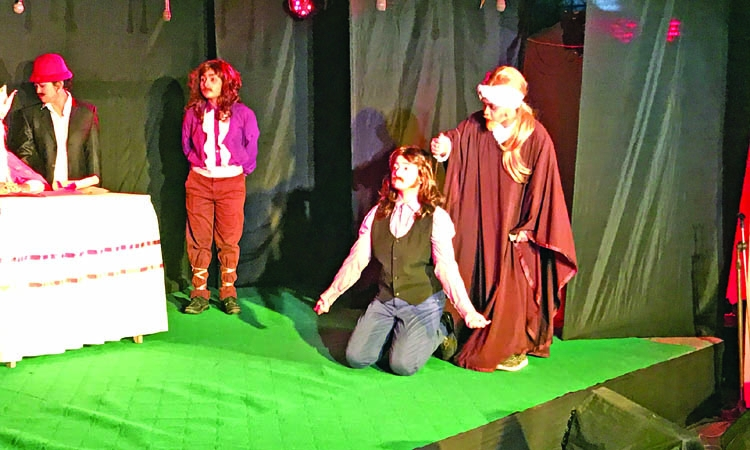 The Merchant of Venice staged at CWU
