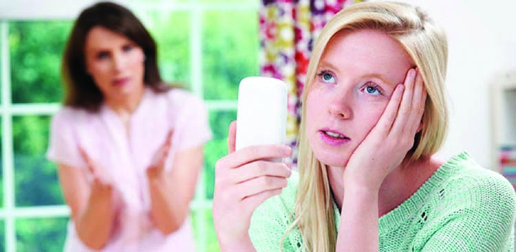 Harmful effects of  cell-phones on teenagers