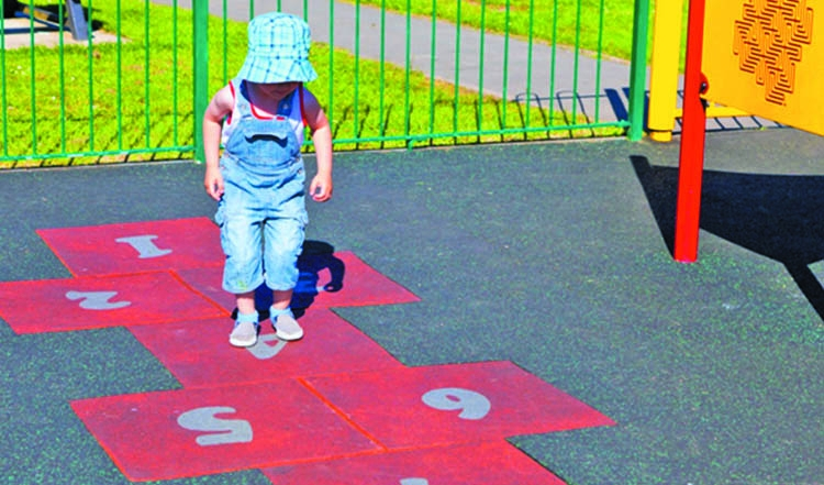 Outdoor activities and games  for toddlers