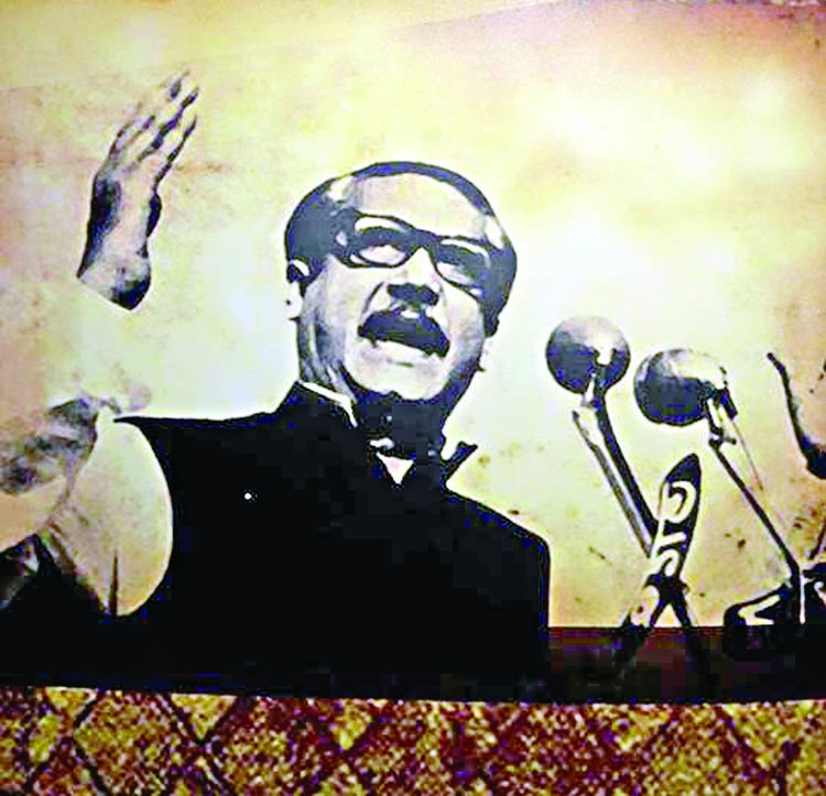 Homage to a great visionary statesman