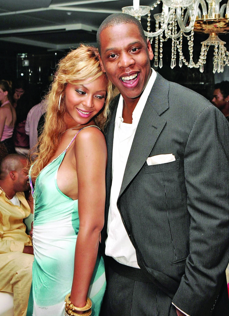 Age difference between jay z and beyonce