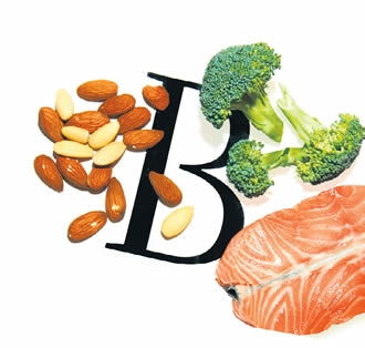 Vitamin B can provide a natural aid for stress