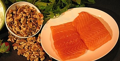 Salmons and walnuts may help combat bowel cancer