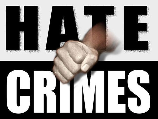 Hate crime on frightening rise, we stand against it
