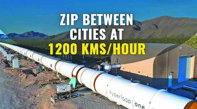 Hyperloop One reinvents Zip between Indian cities