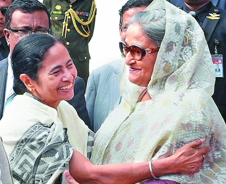 Mamata stands for Hasina