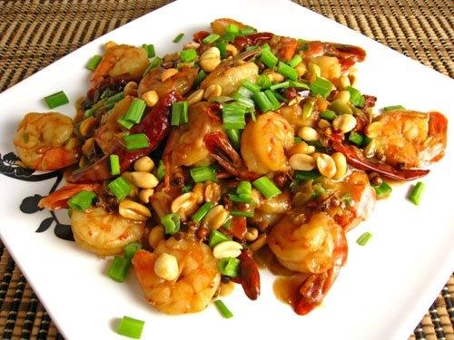 Kung Pao prawns recipe