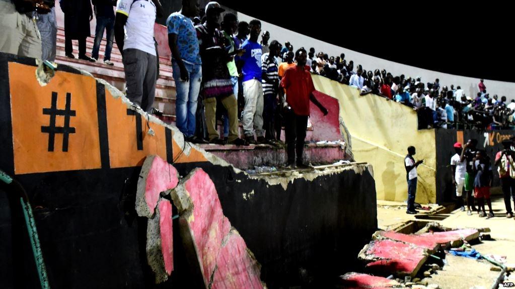 8 killed in Senegal football stadium stampede in Africa