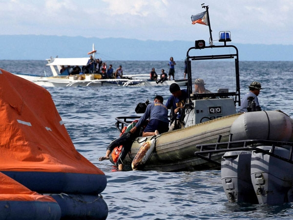 34 missing as military ship sinks off Cameroon