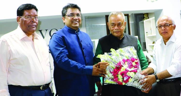 MK Alamgir visits The Asian Age
