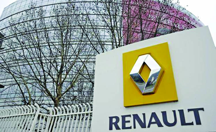 Renault drives on to 2nd sales in first half
