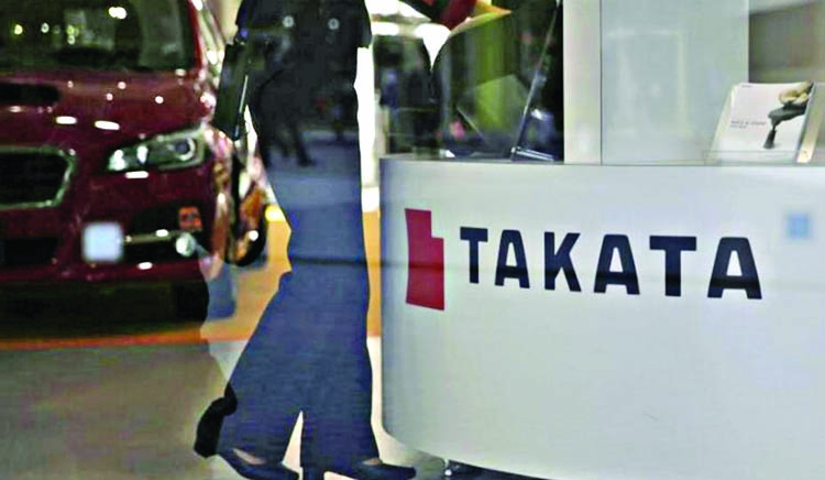 Takata's bankruptcy to pit automakers against victims