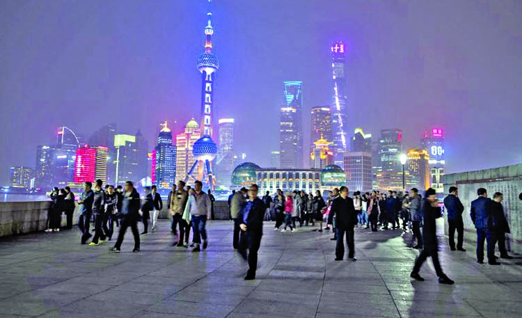 China's economy posts growth but risks remain