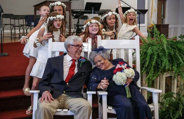 [WATCH] North Carolina couple marries after 70 years apart