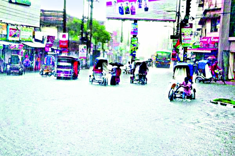 Endless sufferings of port city people as rain continues for 6 days