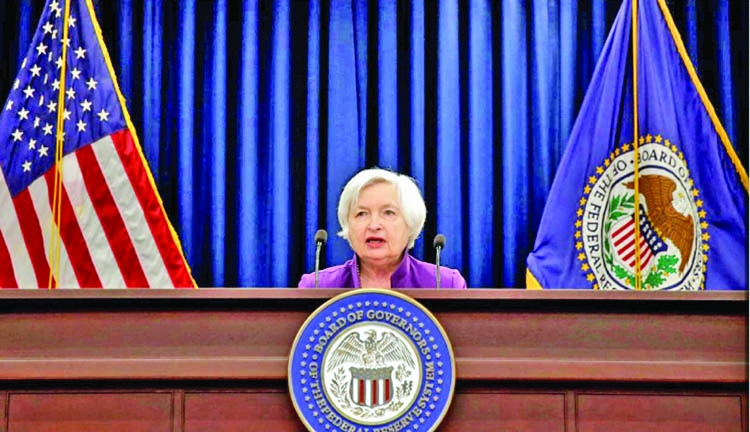 Fed sees prospect of global monetary policy tightening