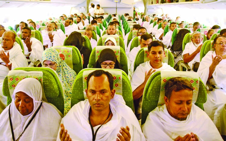 First hajj flight lands in Jeddah