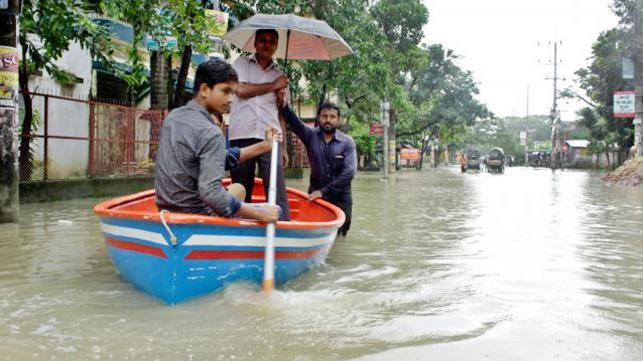 Ctg tax office purchased boat to ride on roads