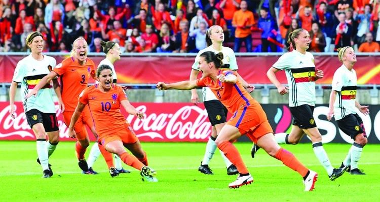 Netherlands, Denmark reach women's Euro quarters