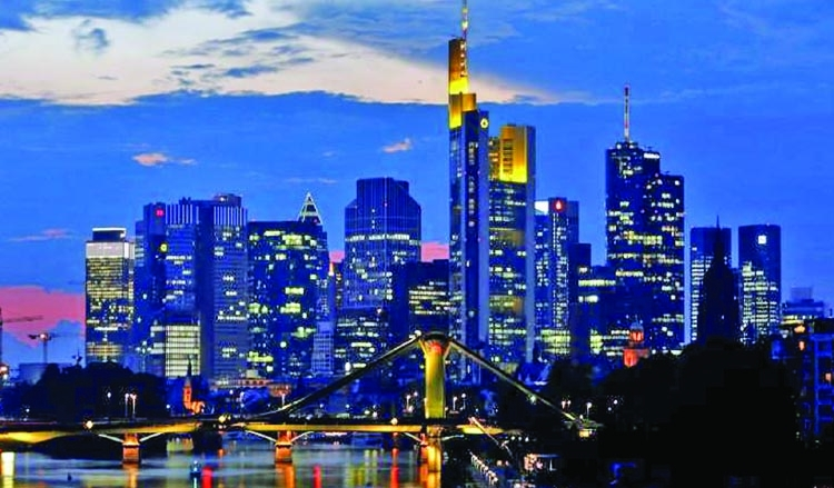 German business confidence hits record high in July