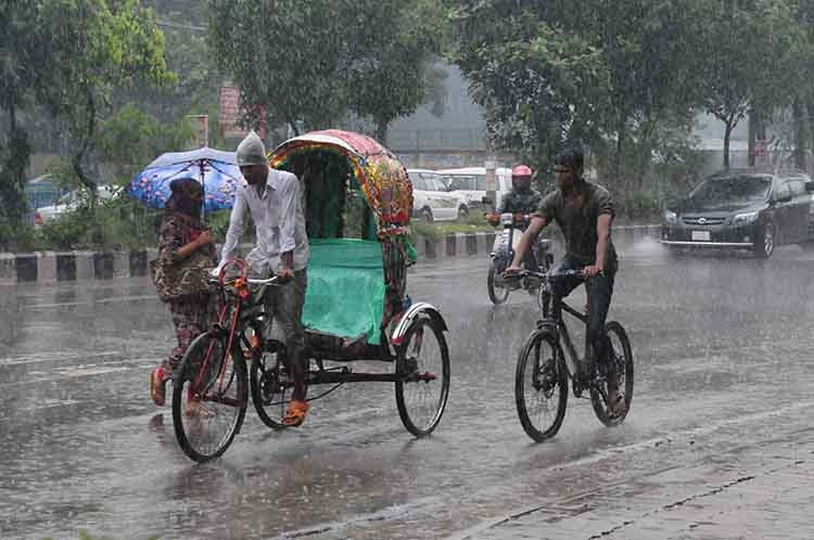 Rains may ease by Friday