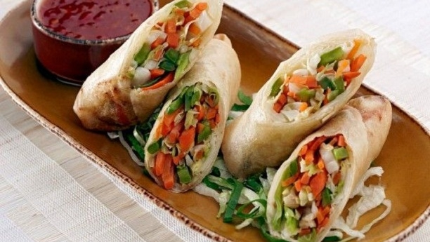 How to make Vegetable rolls