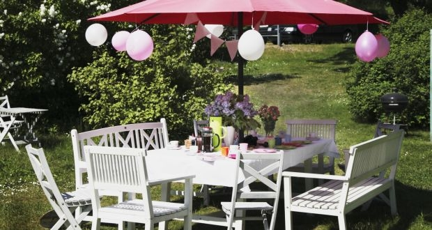 Planning a garden party