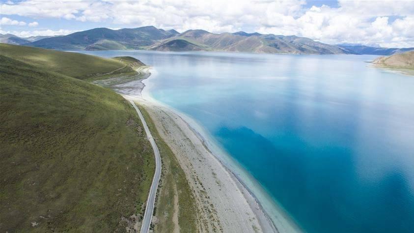 Amazing lake to visit in Tibet