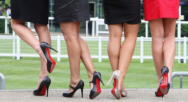 Why high heels are good for your soul but not your soles
