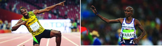 World's two great athletes set for their swansong
