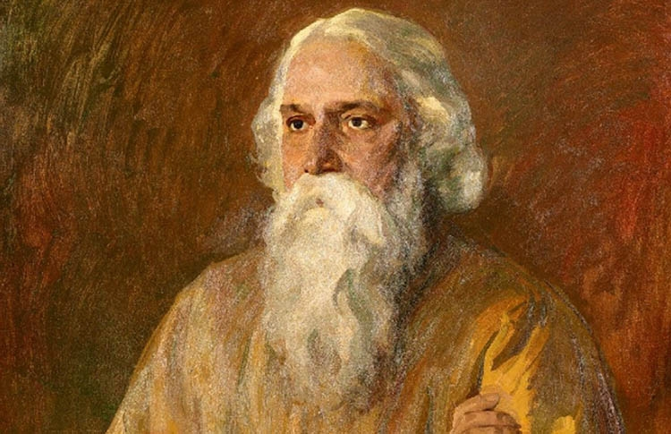 The day Rabindranath Tagore  physically departed