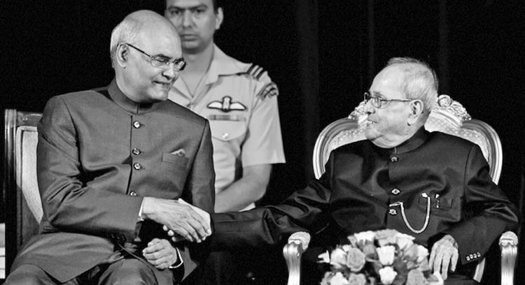 Is the new Indian President shaping up to  his new assignment?