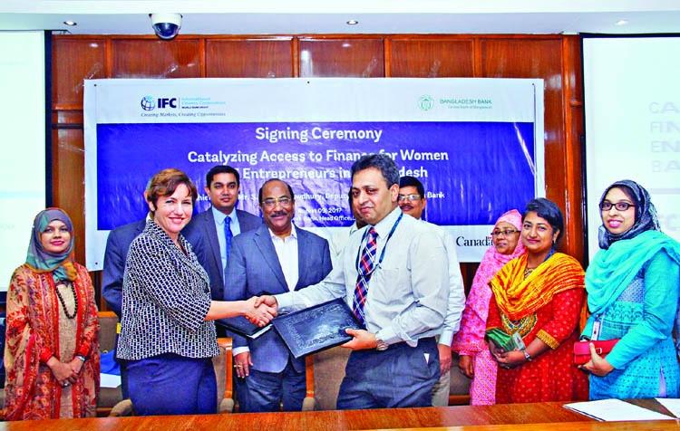 BB, IFC agree to finance women entrepreneurs