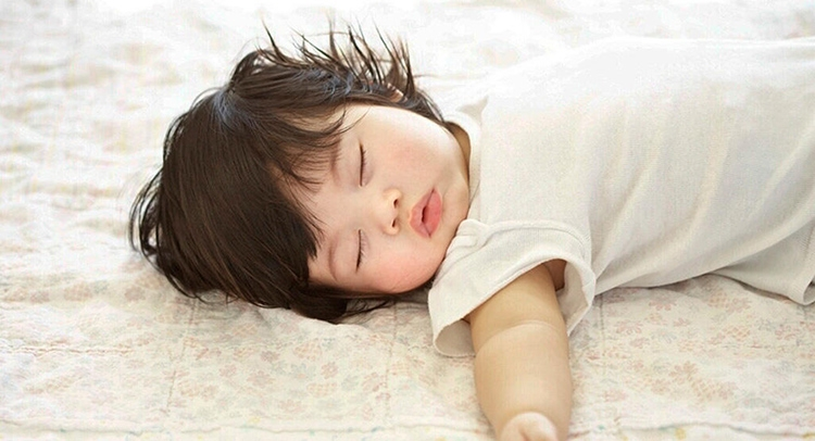 A good night's sleep helps your baby learn to speak