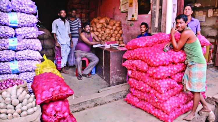 Syndicates control onion market