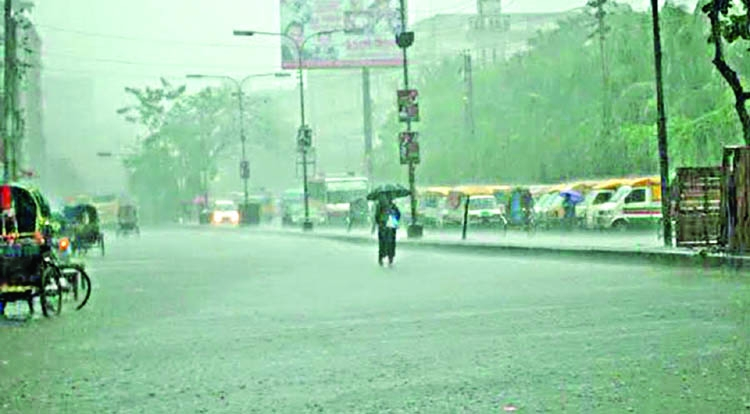 Monsoon rain starts anew in Ctg, adjacent areas