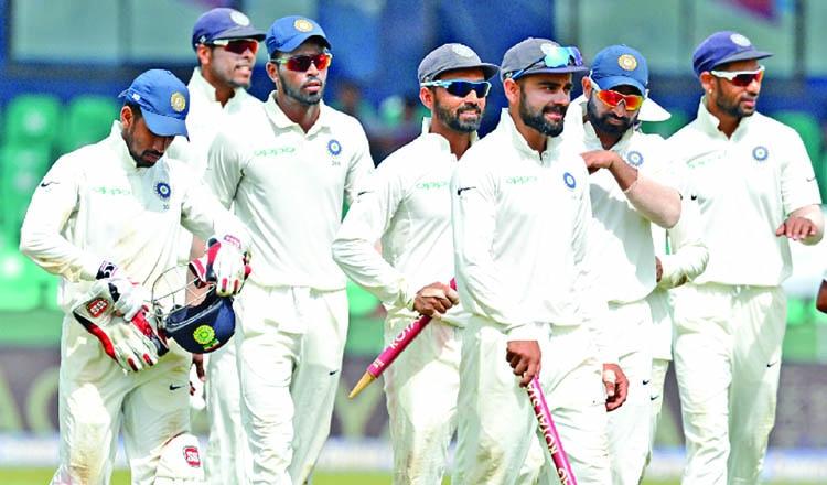 India eye historic away series whitewash
